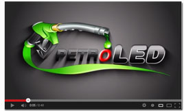 LED Gas Price Signs video